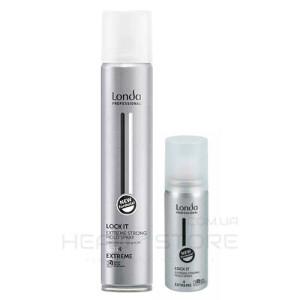 Лак для волос экстремальной фиксации Londa  Lock It 50/300/500ml