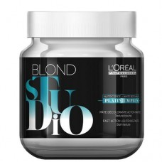 Обесцвечивающая паста L'Oreal Professionnel Blond Studio Platinium Plus 500ml