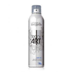 Лак для волос максимальной фиксации L'Oreal Professionnel Tecni.Art Air Fix 400ml