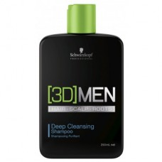 Шампунь для глубокого очищения Schwarzkopf Professional [3D]MEN Deep Cleansing Shampoo 250ml/1000ml