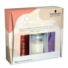 Подарочный набор для волос Schwarzkopf Professional Oil Ultime Argan & Barbary Fig Set