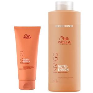 Глубоко питательный кондиционер для волос Wella Invigo Nutri-Enrich Deep Nourishing Conditioner 200мл/1000мл