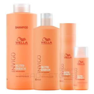 Шампунь для волос глубоко питательный Wella Invigo Nutri-Enrich Deep Nourishing Shampoo 50мл/250мл/500мл/1000мл