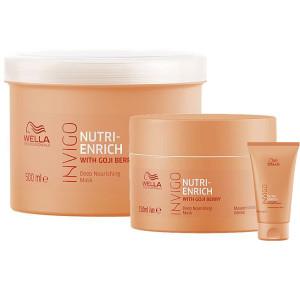 Глубоко питательная маска для волос Wella Professionals Invigo Nutri-Enrich Deep Nourishing Mask 30мл/150мл/500мл