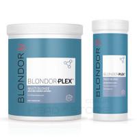 Обесцвечивающая пудра с технологией PLEX Wella Blondor PLEX Powder 400/800 г.
