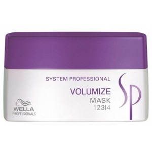 Маска для придания объема - Wella SP Volumize Mask, 30мл/200мл/400мл