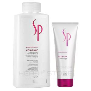 Кондиционер для окрашенных волос - Wella SP Color Save Conditioner, 200мл/1000мл