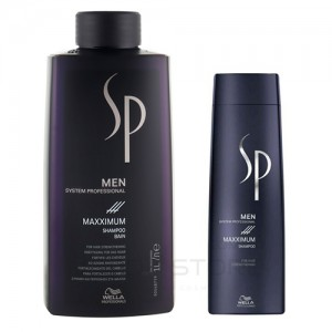 Максимум шампунь против выпадения волос - Wella SP Men Maxximum Shampoo, 250мл/1000мл