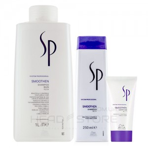 Разглаживающий шампунь - Wella SP Smoothen Shampoo, 30ml/250ml/1000ml