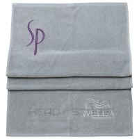 Полотенце из хлопка Wella SP Towel Black/Silver 50х100см.