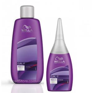 Curl It Mild Лосьон для завивки окрашенных или поврежденных волос Wella 250ml
